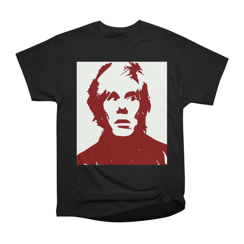 Andy Warhol Women's Heavyweight Unisex T-Shirt by Matthew Lacey-icarusismartdesigns