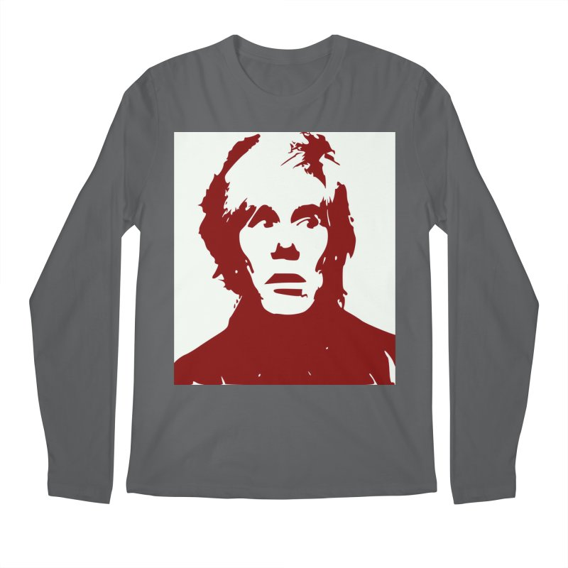 Andy Warhol Men's Longsleeve T-Shirt by Matthew Lacey-icarusismartdesigns