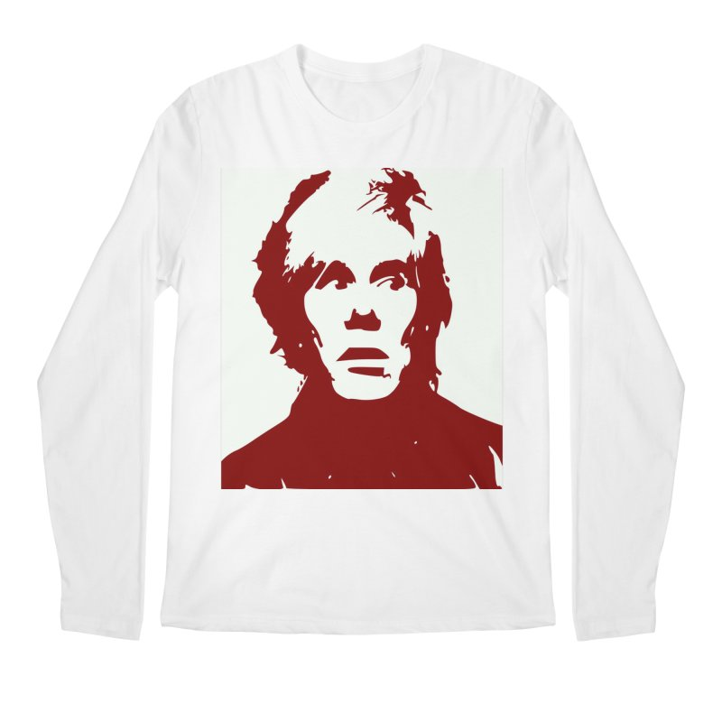 Andy Warhol Men's Regular Longsleeve T-Shirt by Matthew Lacey-icarusismartdesigns