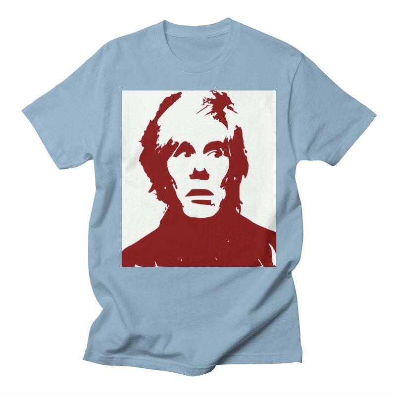 Andy Warhol Men's Regular T-Shirt by Matthew Lacey-icarusismartdesigns