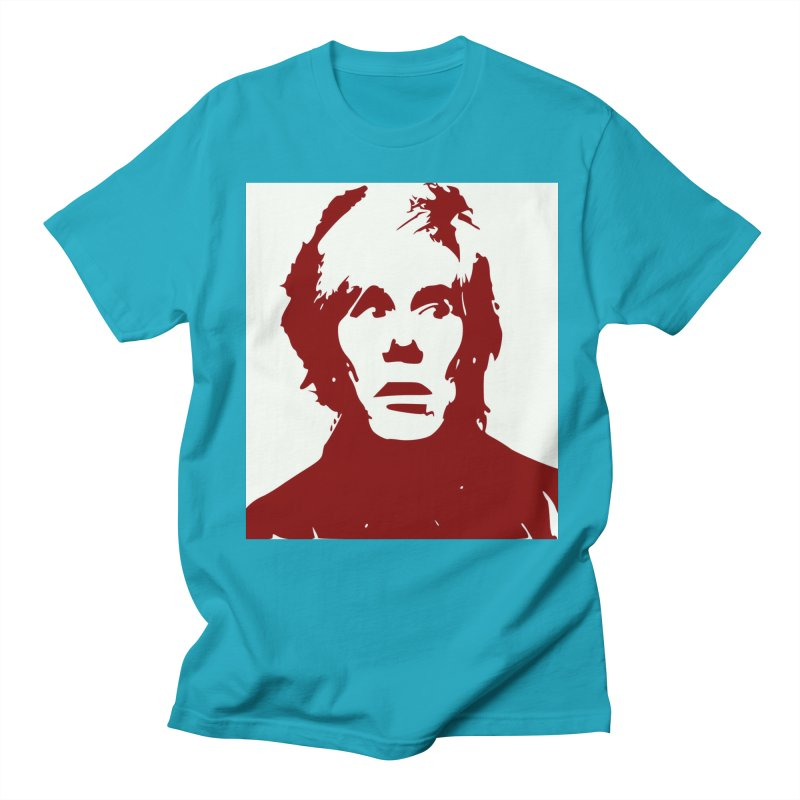 Andy Warhol Women's T-Shirt by Matthew Lacey-icarusismartdesigns