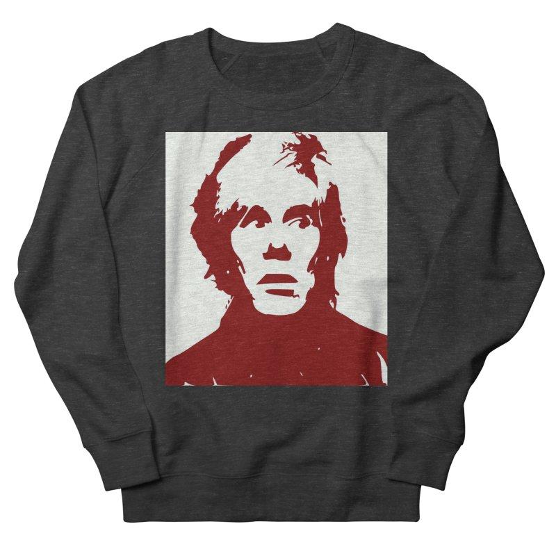 Andy Warhol Men's Sweatshirt by Matthew Lacey-icarusismartdesigns