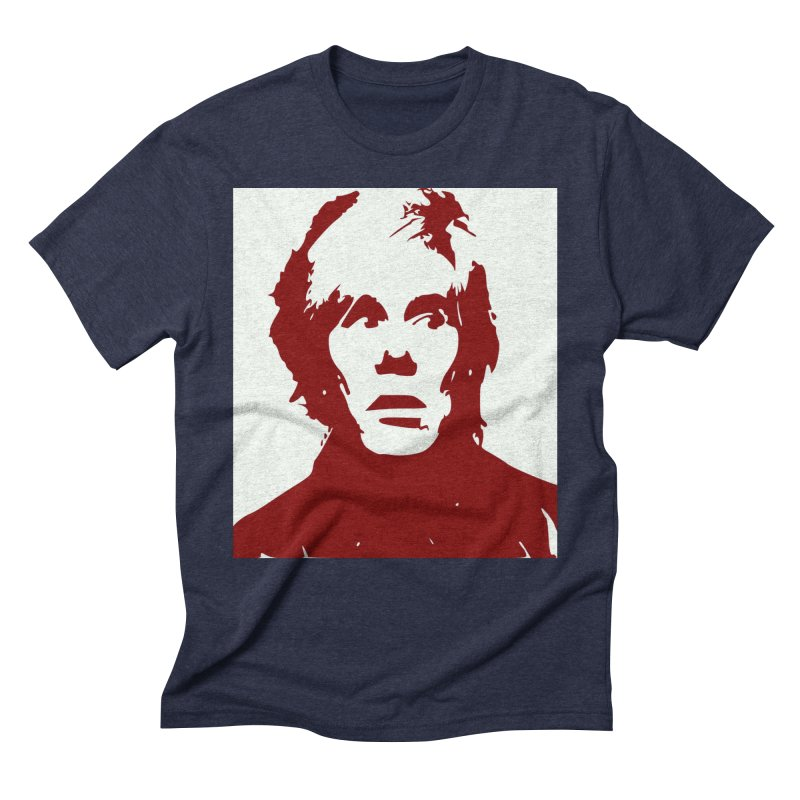 Andy Warhol Men's Triblend T-Shirt by Matthew Lacey-icarusismartdesigns