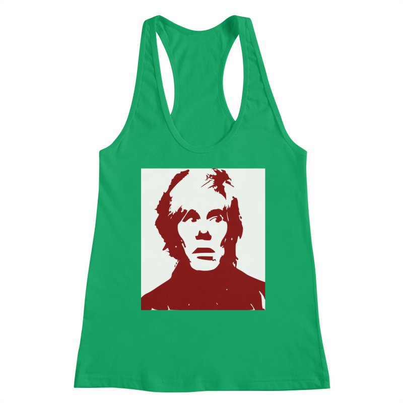 Andy Warhol Women's Tank by Matthew Lacey-icarusismartdesigns