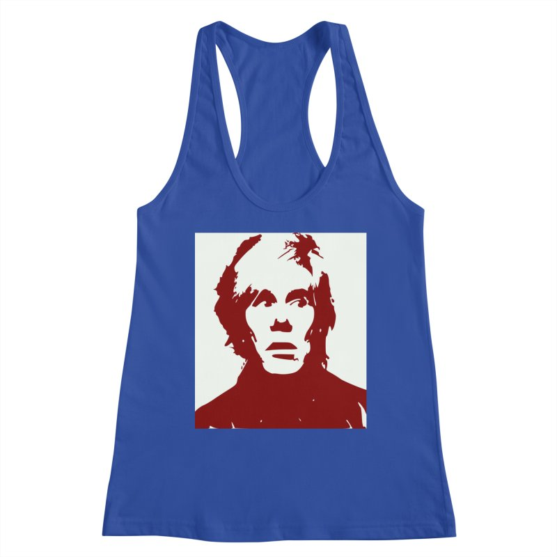 Andy Warhol Women's Tank by Matthew Lacey-icarusismartdesigns