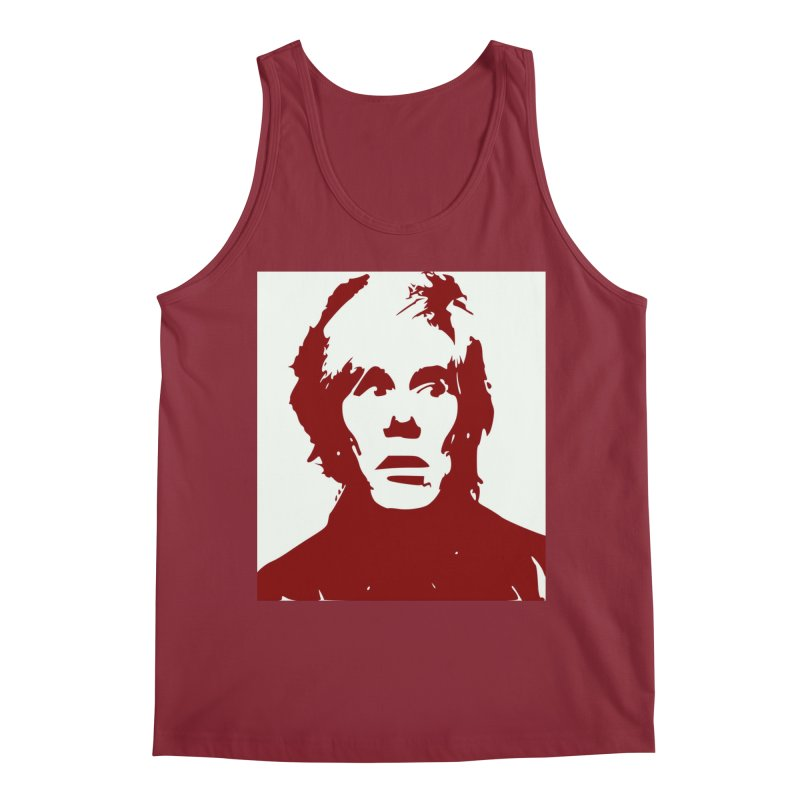 Andy Warhol Men's Regular Tank by Matthew Lacey-icarusismartdesigns