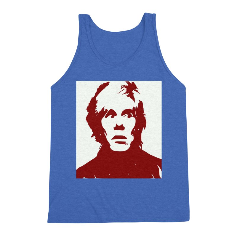 Andy Warhol Men's Tank by Matthew Lacey-icarusismartdesigns