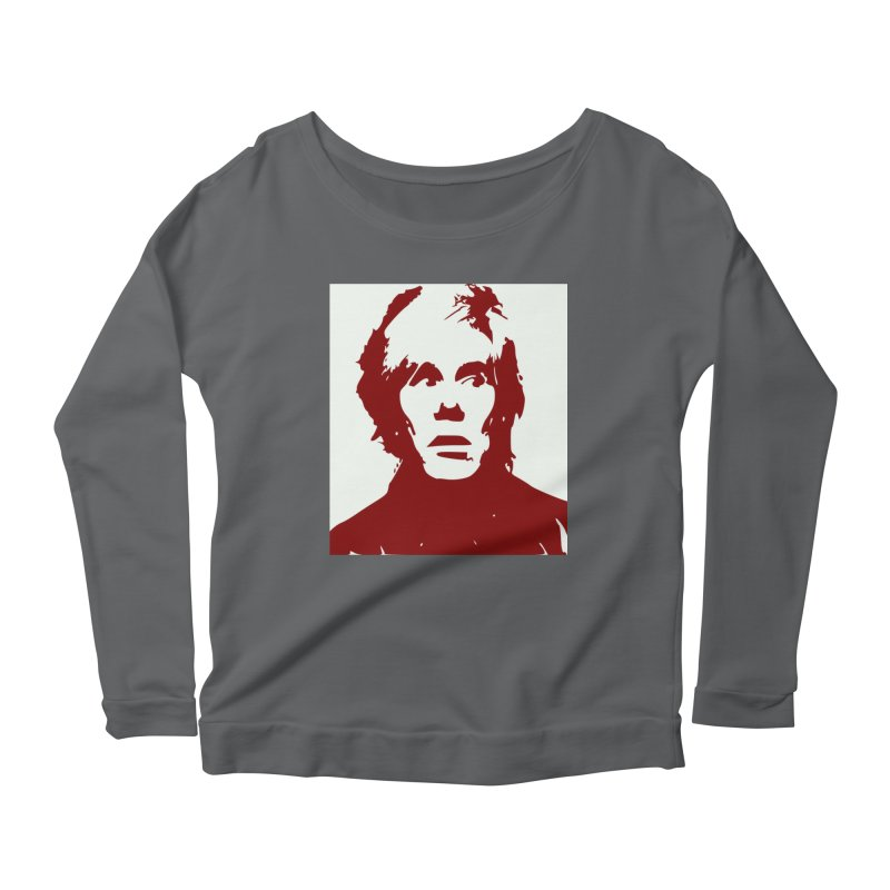 Andy Warhol Women's Longsleeve T-Shirt by Matthew Lacey-icarusismartdesigns