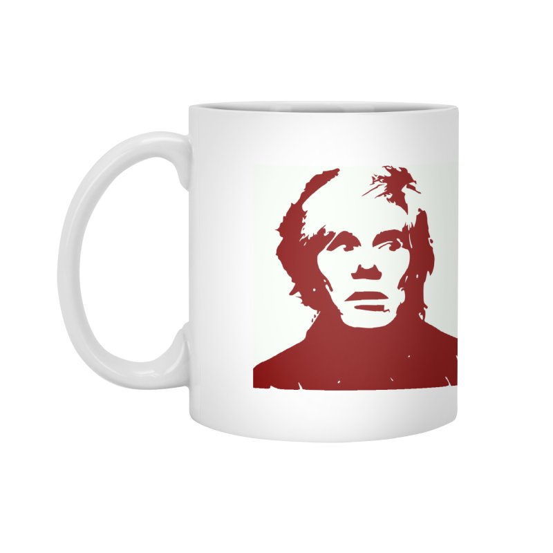 Andy Warhol Accessories Mug by Matthew Lacey-icarusismartdesigns