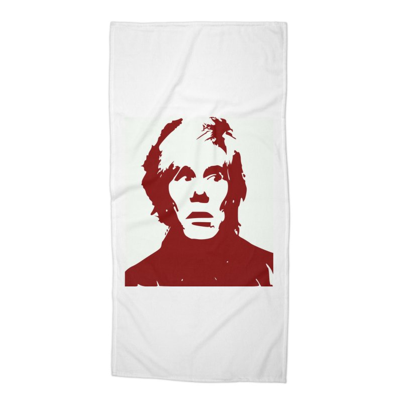 Andy Warhol Accessories Beach Towel by Matthew Lacey-icarusismartdesigns