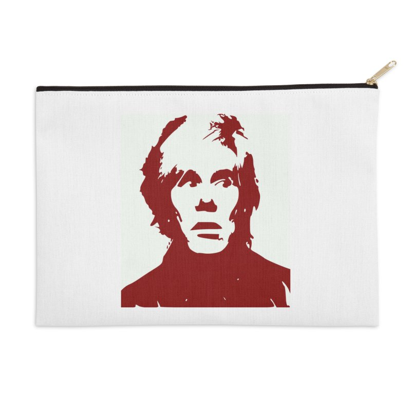 Andy Warhol Accessories Zip Pouch by Matthew Lacey-icarusismartdesigns