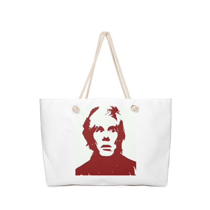 Andy Warhol Accessories Bag by Matthew Lacey-icarusismartdesigns
