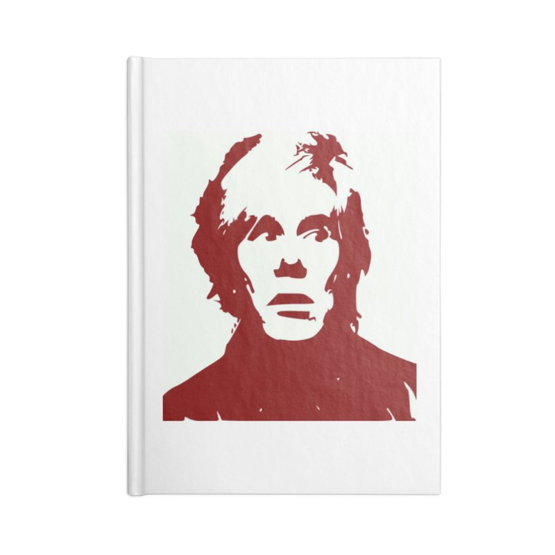 Andy Warhol Accessories Notebook by Matthew Lacey-icarusismartdesigns