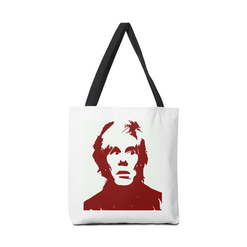 Andy Warhol Accessories Tote Bag Bag by Matthew Lacey-icarusismartdesigns