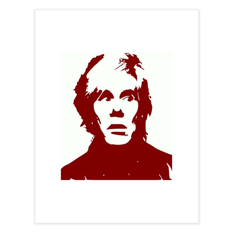 Andy Warhol Home Fine Art Print by Matthew Lacey-icarusismartdesigns
