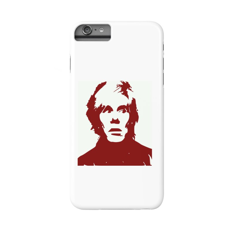 Andy Warhol Accessories Phone Case by Matthew Lacey-icarusismartdesigns