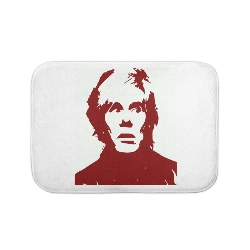 Andy Warhol Home Bath Mat by Matthew Lacey-icarusismartdesigns