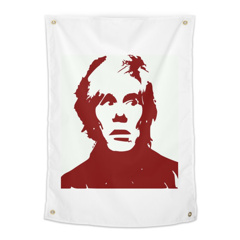 Andy Warhol Home Tapestry by Matthew Lacey-icarusismartdesigns