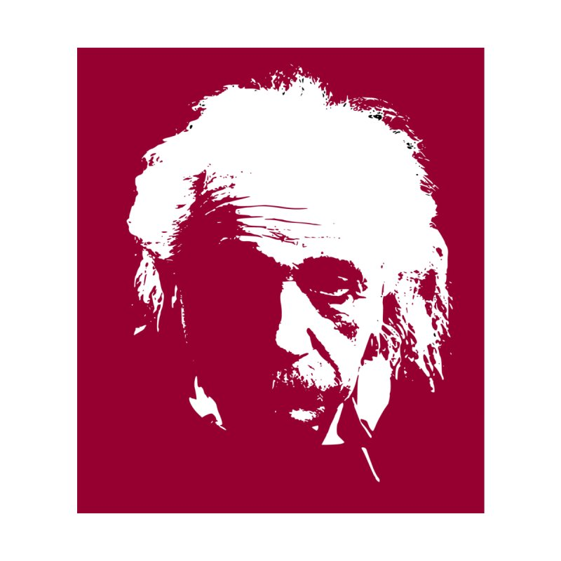 Albert Einstein Home Duvet by Matthew Lacey-icarusismartdesigns