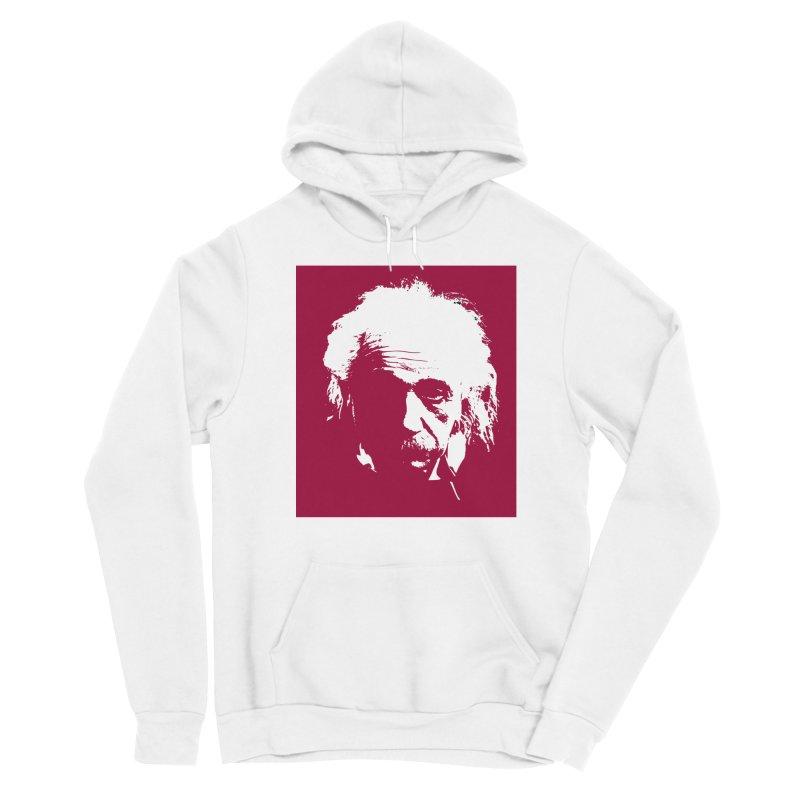 Albert Einstein Men's Sponge Fleece Pullover Hoody by Matthew Lacey-icarusismartdesigns