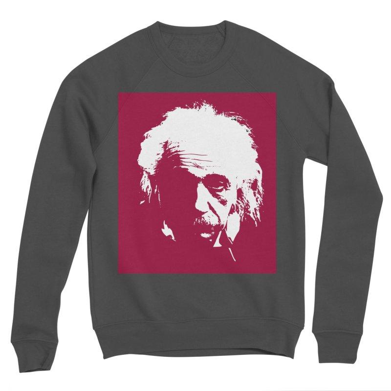Albert Einstein Women's Sponge Fleece Sweatshirt by Matthew Lacey-icarusismartdesigns