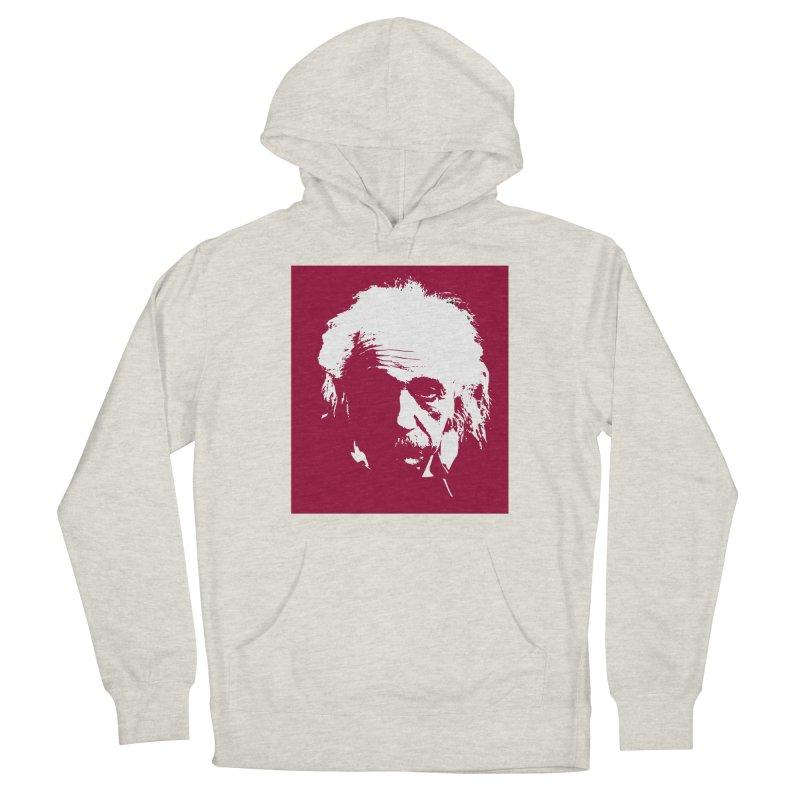 Albert Einstein Women's Pullover Hoody by Matthew Lacey-icarusismartdesigns