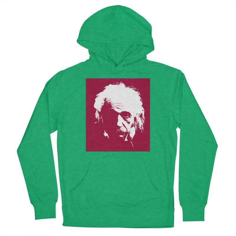 Albert Einstein Men's Pullover Hoody by Matthew Lacey-icarusismartdesigns