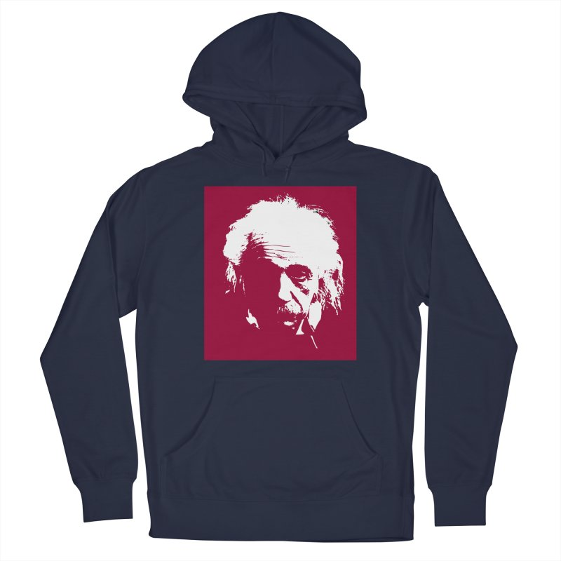 Albert Einstein Men's Pullover Hoody by Matthew Lacey-icarusismartdesigns