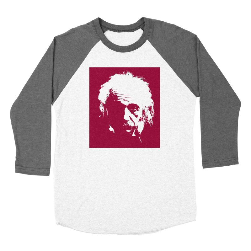 Albert Einstein Women's Longsleeve T-Shirt by Matthew Lacey-icarusismartdesigns