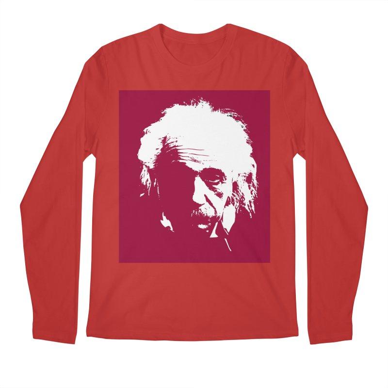 Albert Einstein Men's Longsleeve T-Shirt by Matthew Lacey-icarusismartdesigns