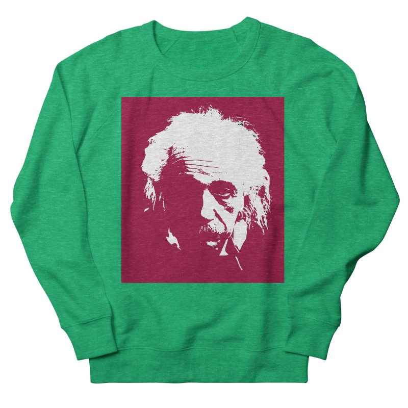 Albert Einstein Women's Sweatshirt by Matthew Lacey-icarusismartdesigns