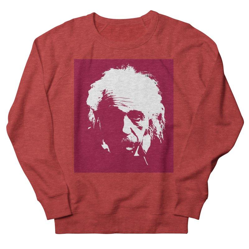 Albert Einstein Men's French Terry Sweatshirt by Matthew Lacey-icarusismartdesigns