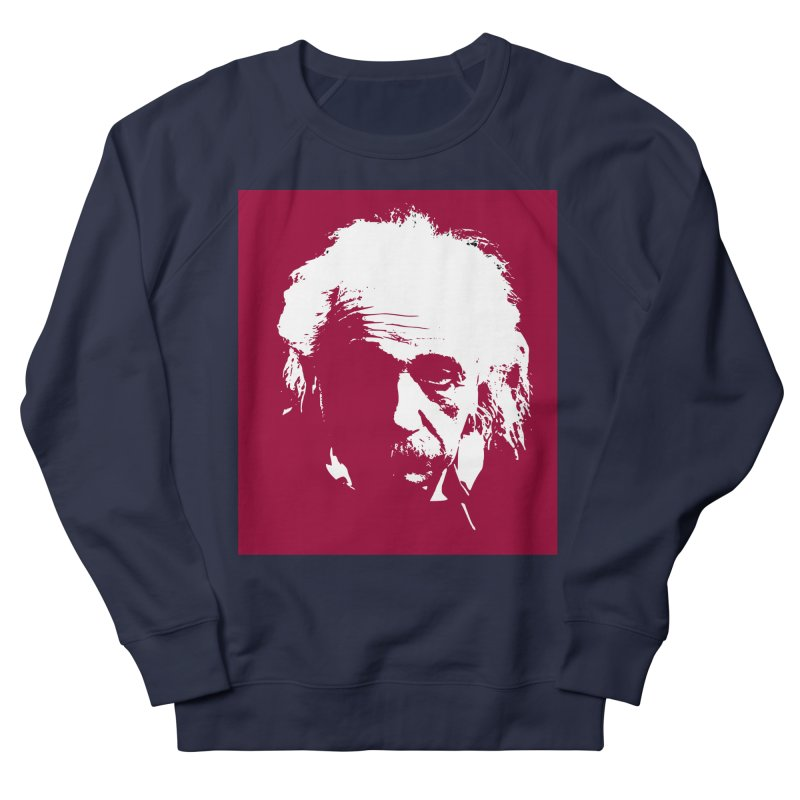 Albert Einstein Men's Sweatshirt by Matthew Lacey-icarusismartdesigns