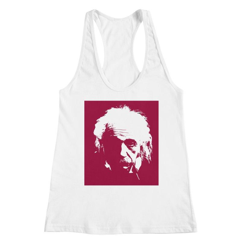 Albert Einstein Women's Tank by Matthew Lacey-icarusismartdesigns