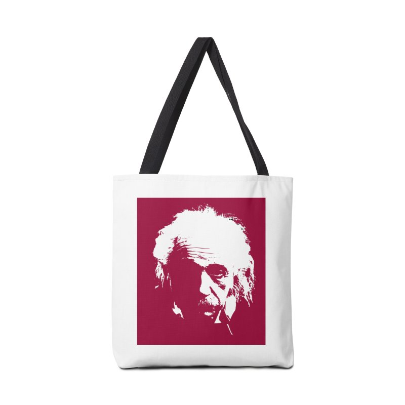 Albert Einstein Accessories Tote Bag Bag by Matthew Lacey-icarusismartdesigns