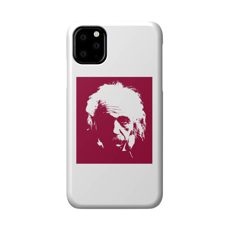 Albert Einstein Accessories Phone Case by Matthew Lacey-icarusismartdesigns