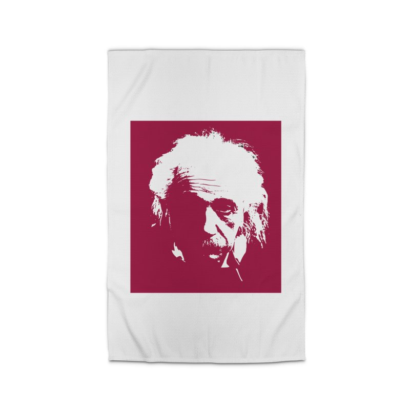Albert Einstein Home Rug by Matthew Lacey-icarusismartdesigns