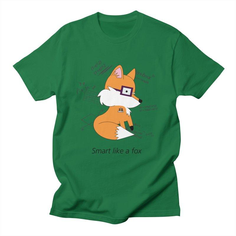 Smart like a Fox Men's T-shirt by ichigomomo's Artist Shop