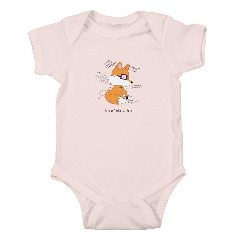 Smart like a Fox Kids Baby Bodysuit by ichigomomo's Artist Shop