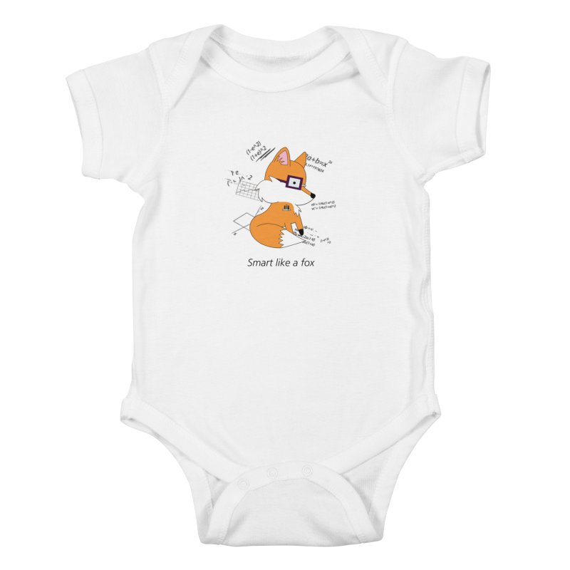 Smart like a Fox Kids Baby Bodysuit by ichigomomo's Artist Shop