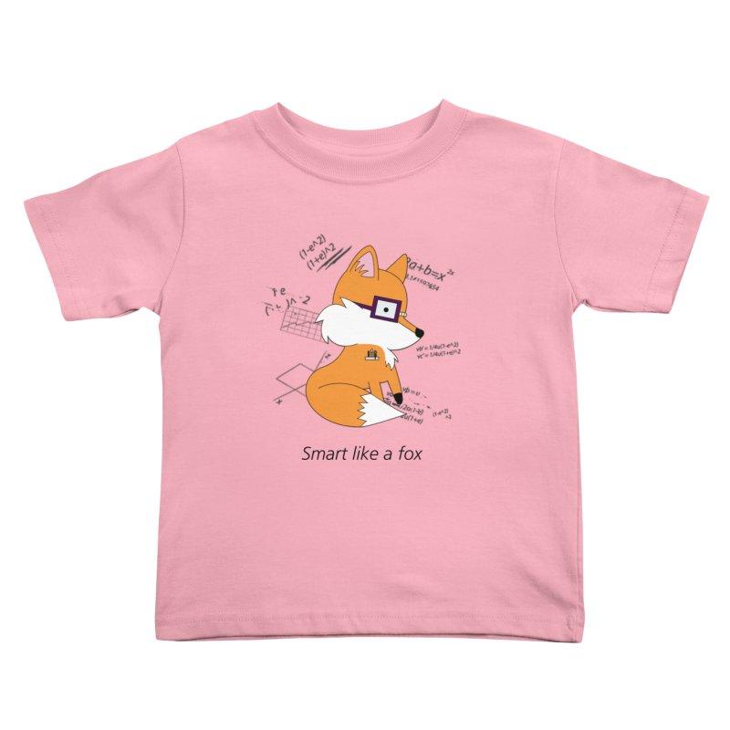 Smart like a Fox Kids Toddler T-Shirt by ichigomomo's Artist Shop