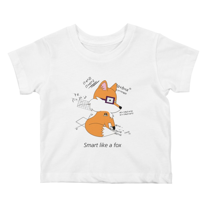 Smart like a Fox Kids Baby T-Shirt by ichigomomo's Artist Shop