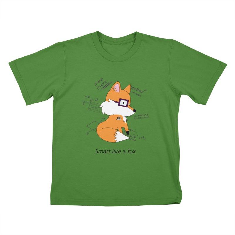 Smart like a Fox Kids T-Shirt by ichigomomo's Artist Shop