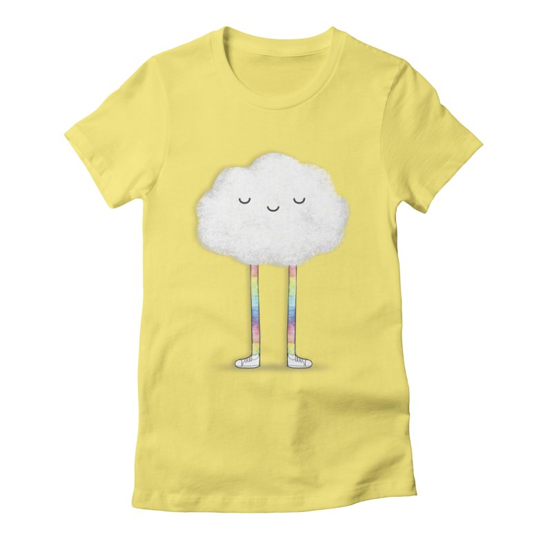 Showing off Your Colors Women's Fitted T-Shirt by ichigomomo's Artist Shop