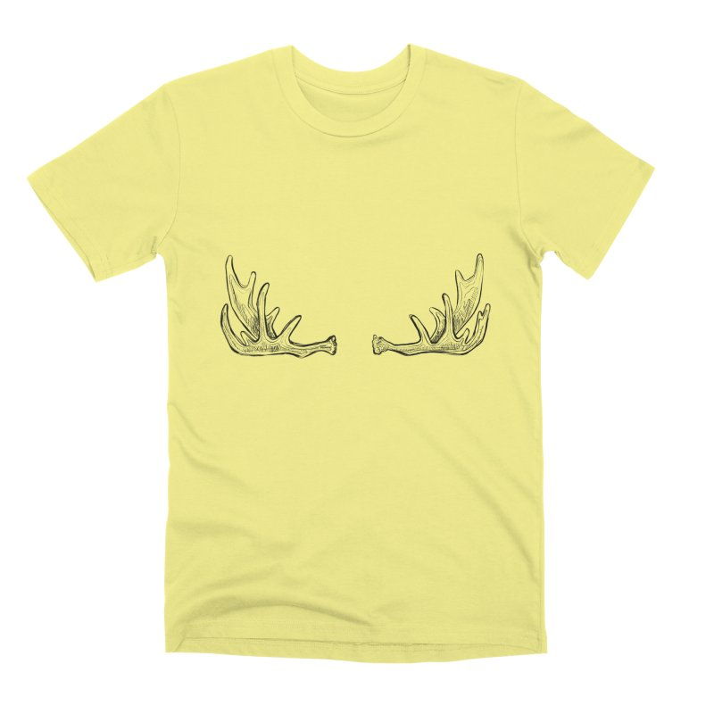 NICE RACK (Moose, no text) Men's Premium T-Shirt by iCKY the Great's Artist Shop