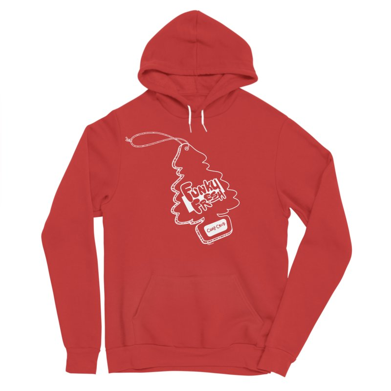 FUNKY FRESH (Camp Crud Edition) Men's Sponge Fleece Pullover Hoody by iCKY the Great's Artist Shop