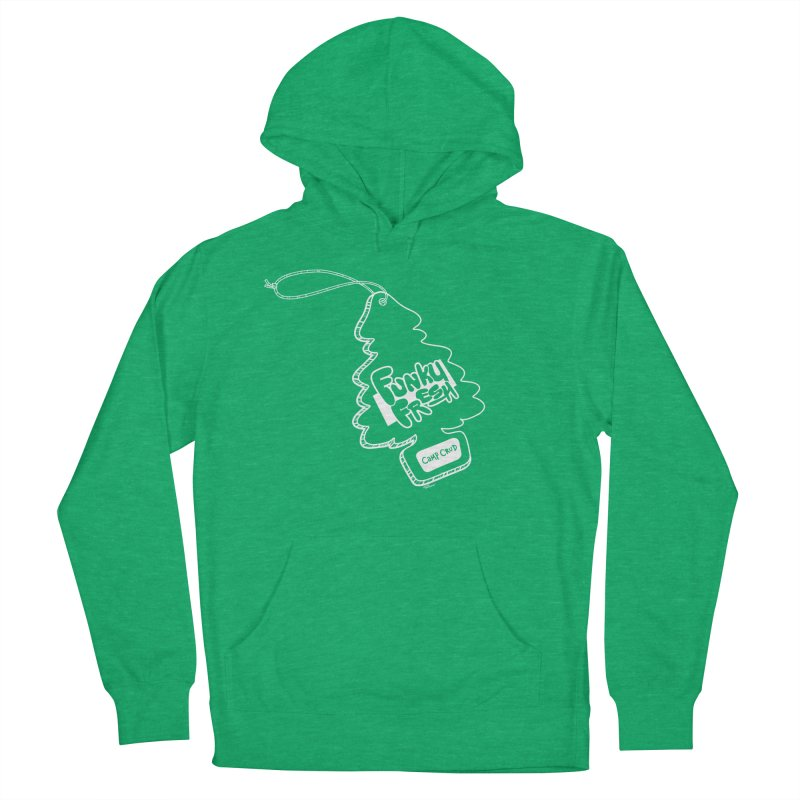 FUNKY FRESH (Camp Crud Edition) Men's French Terry Pullover Hoody by iCKY the Great's Artist Shop