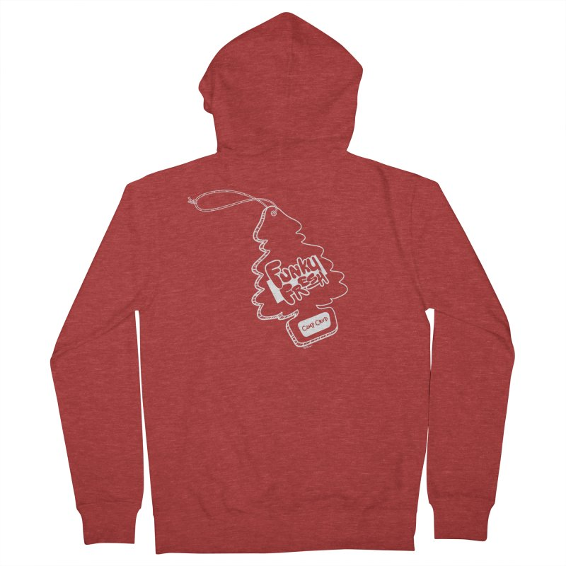 FUNKY FRESH (Camp Crud Edition) Men's French Terry Zip-Up Hoody by iCKY the Great's Artist Shop