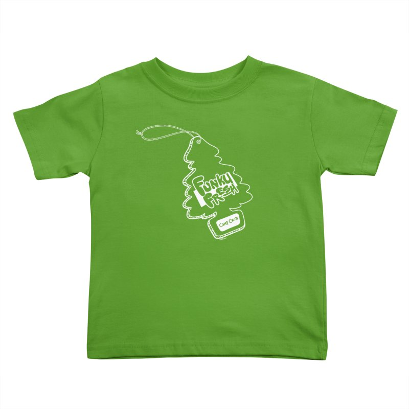 FUNKY FRESH (Camp Crud Edition) Kids Toddler T-Shirt by iCKY the Great's Artist Shop