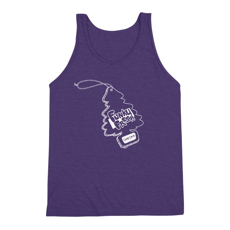 FUNKY FRESH (Camp Crud Edition) Men's Triblend Tank by iCKY the Great's Artist Shop